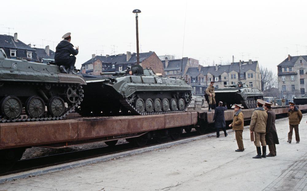 Sowjetische Streitkräfte In Der Ddr