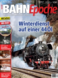 BahnEpoche 21 / Winter 2017 mit Film-DVD