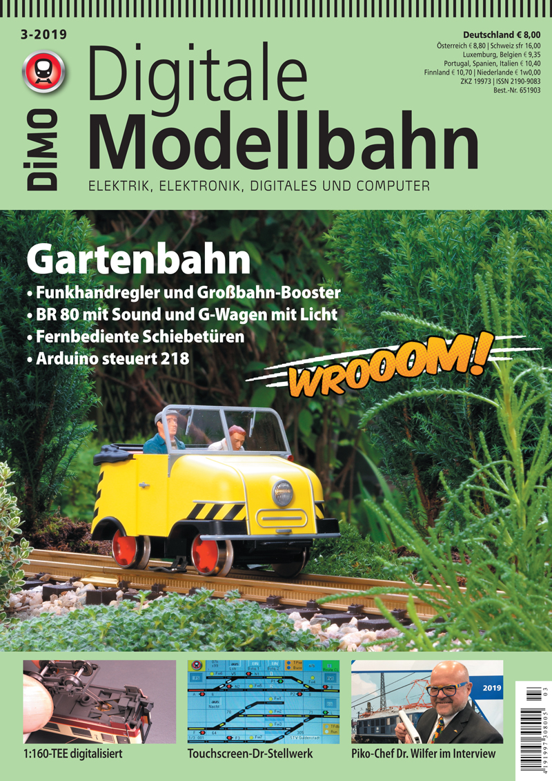 Digitale Modelbahn