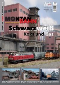 Montan-Bahn Schwarzweiß – Koks und Gas