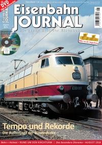 Eisenbahn Journal 8/2018 mit DVD
