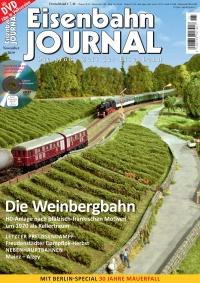 Eisenbahn Journal 11/2019 mit DVD