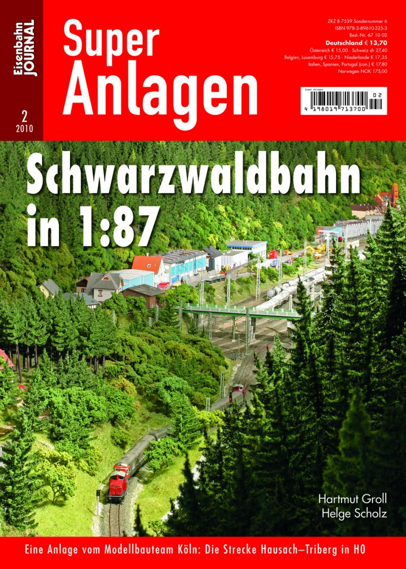 Schwarzwaldbahn in 1:87