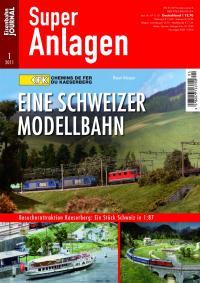 Eine Schweizer Modellbahn
