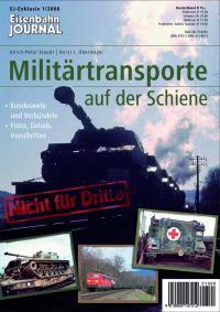 Militärtransporte auf der Schiene