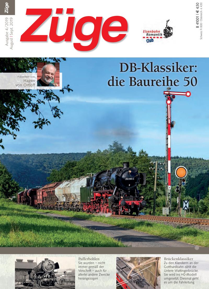 Zeitschrift Züge