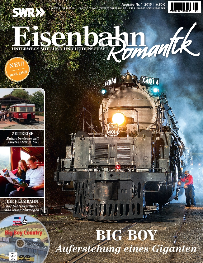 Eisenbahn Romantik als Magazin