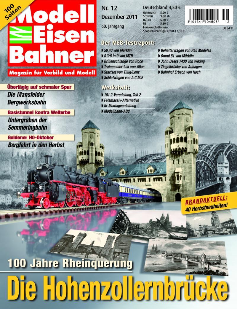 Modelleisenbahner 12/2011