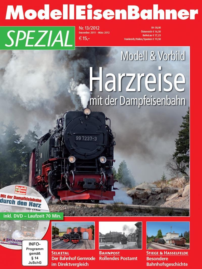 Harzreise mit der Dampfeisenbahn