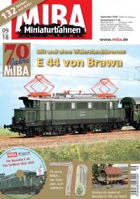 MIBA 9/2018 mit DVD - Jubiläumsausgabe