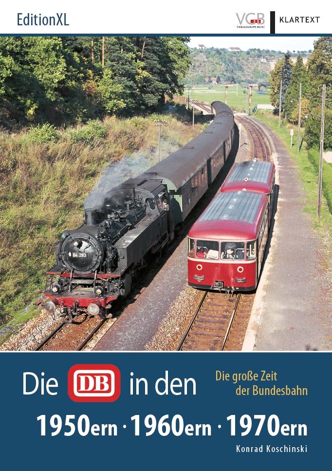 Die DB in den 1950ern, 1960ern, 1970ern
