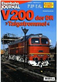 """EJ V200 der DR """"Taigatrommel"""""""