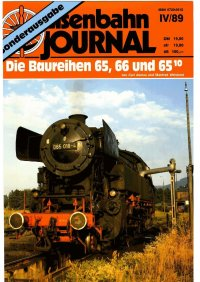 EJ Die Baureihen 65, 66, 65.10