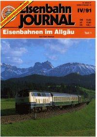 EJ Eisenbahnen im Allgäu