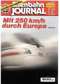 EJ Mit 250 km/h durch Europa