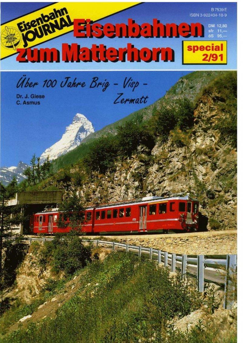 Eisenbahnen zum Matterhorn