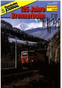 EJ 125 Jahre Brennerbahn
