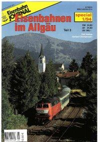 EJ Eisenbahnen im Allgäu III