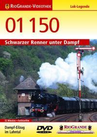 01 150 - Schwarzer Renner unter Dampf