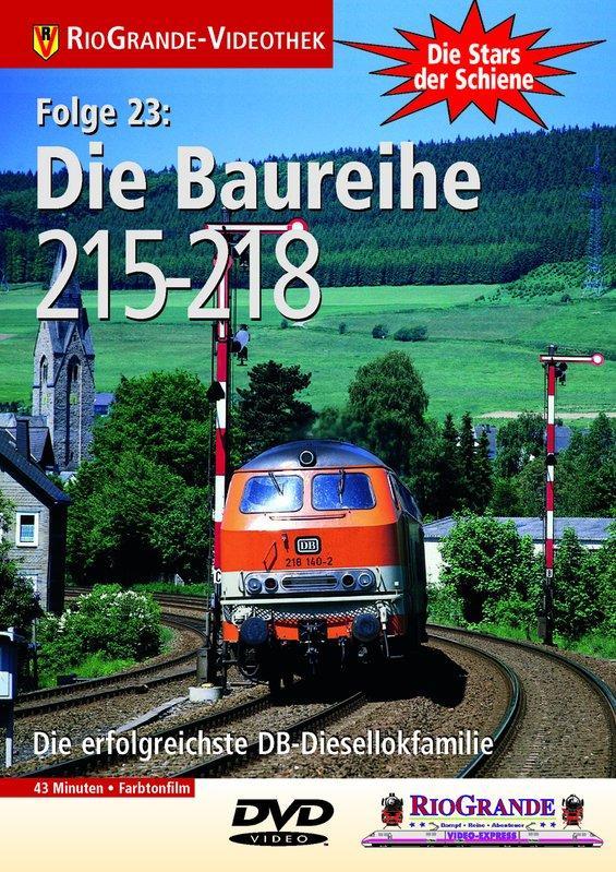 Die Baureihen 215-218