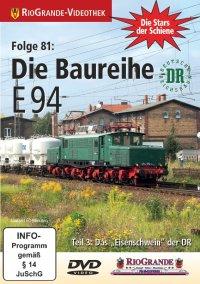 """Die Baureihe E 94 - Teil 3: Das """"Eisenschwein"""" der DR"""
