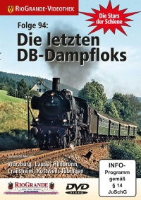 Die letzten DB-Dampfloks