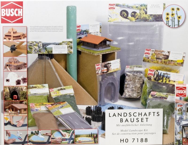 Busch Landschaftsbau-Set