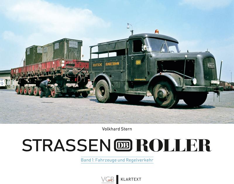 Straßenroller der Deutschen Bundesbahn